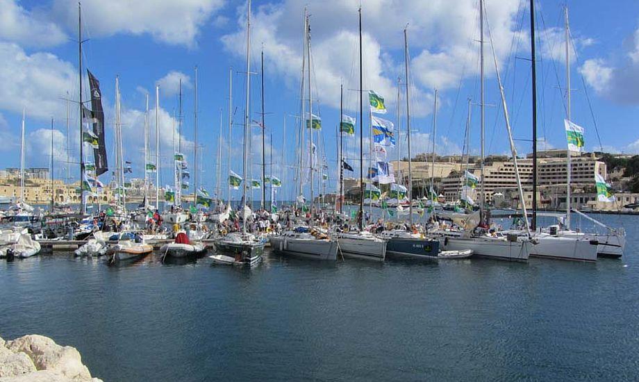 Malta har et fantastisk klima med 25 graders varme lige nu. Foto: John Leadbetter