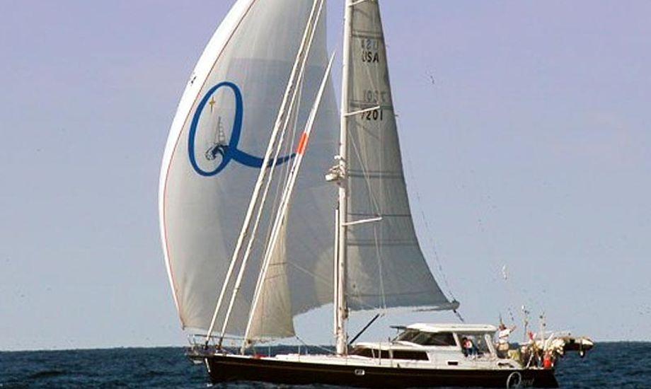 Yachten er en Davidson 58 pilot house sloop ved navn s/v Quest. Foto: svquest.com
