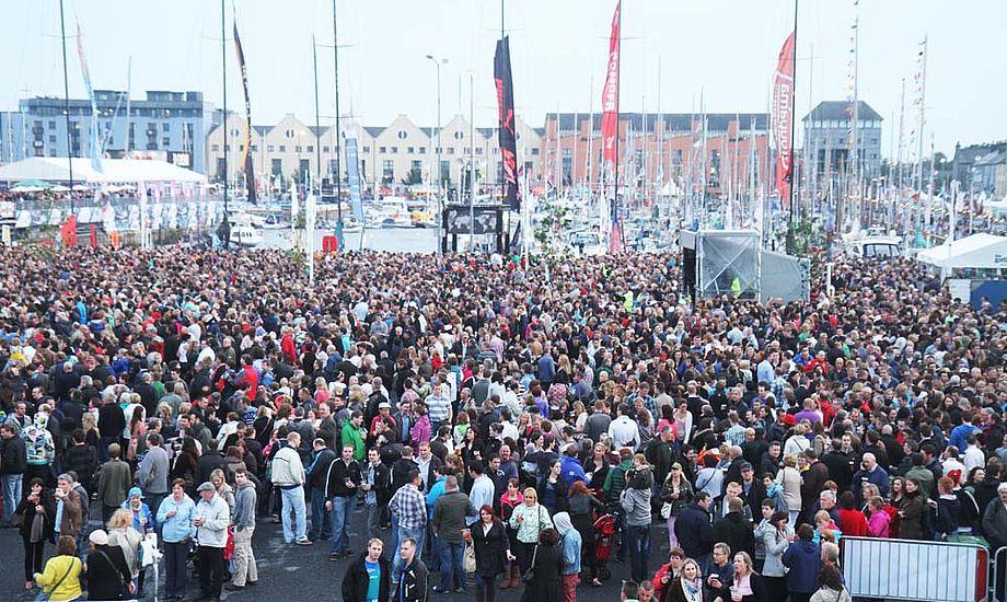 Der var en utrolig god stemning i Galway, oplevede minbaad.dk, men regningerne blev åbenbart ikke betalt. Foto: Troels Lykke