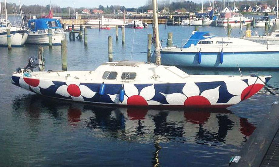 Modigt, men flot gået. Den ældre H-båd har fået charme. Foto: Susanne Hedegaard Andersen