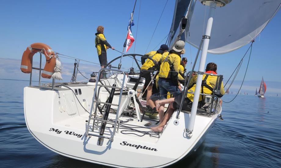 First 40feren er hentet i Italien og familien sejlede båden hele vejen hjem. Foto: Troels Lykke