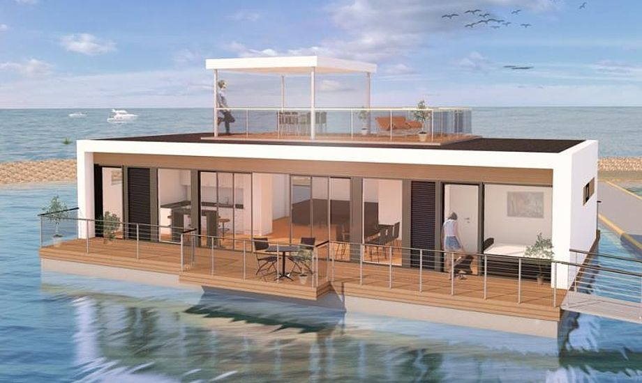 55 kvadratmeter terrasser bliver standard på Zunshine Living 114 fra Randers.