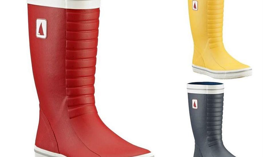 Støvlen kan udover farverne på billedet også købes i hvid. Foto: Aarhus Sea Shop