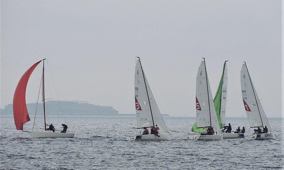 - Det er godt at se hvordan miljøet vokser. Særligt, hvordan at de unge mere uerfarne og mere erfarne sejlere sammensætter holdene, siger Wolsing fra Sejlsportsligaen. PR-foto