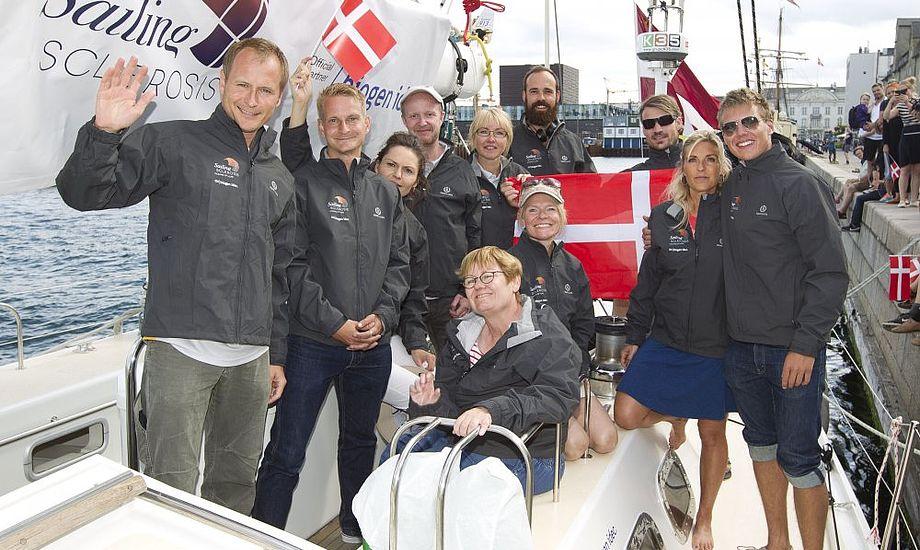 The Sailing Sclerosis Foundation har til formål at ændre opfattelsen af MS.