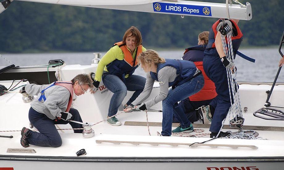 Også flere kvinder vil på vandet, fortæller Steen Wintlev. Foto: Middelfart Sejlklub