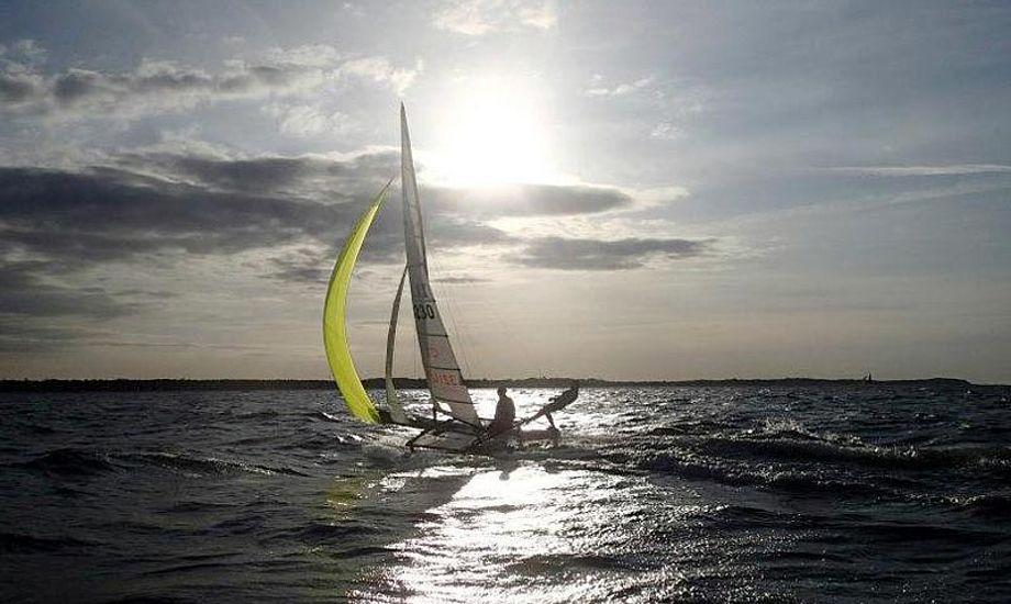 Brug påsken til at træne, hvis du ikke skal ud at rejse. Foto: Olympisk Sejlsport Øst