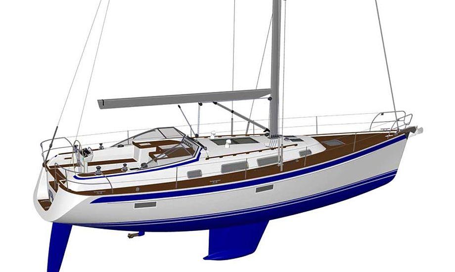 Der er mange muligheder for at indrette båden efter behov. Foto: Hallberg-Rassy.com