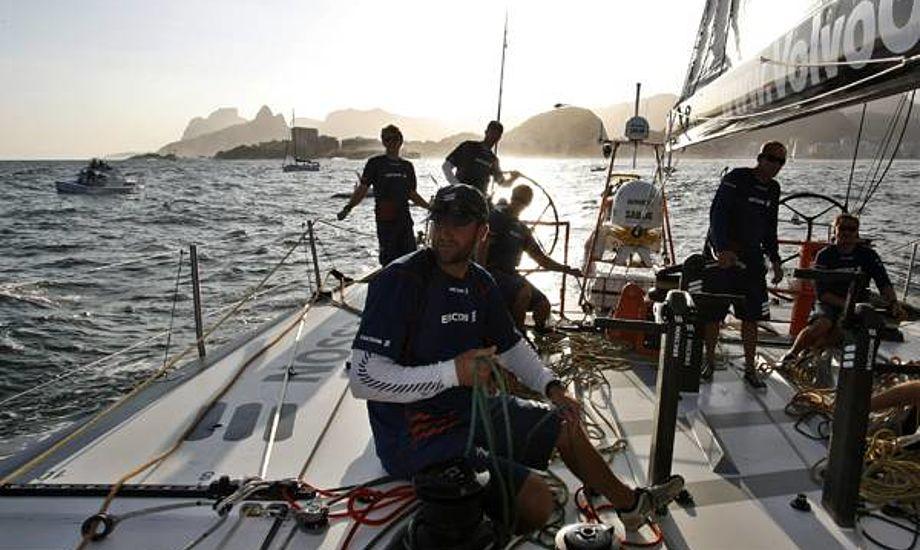 Jens Dolmer på Ericsson Racing Team i Rio. Arkivfoto: Troels Lykke