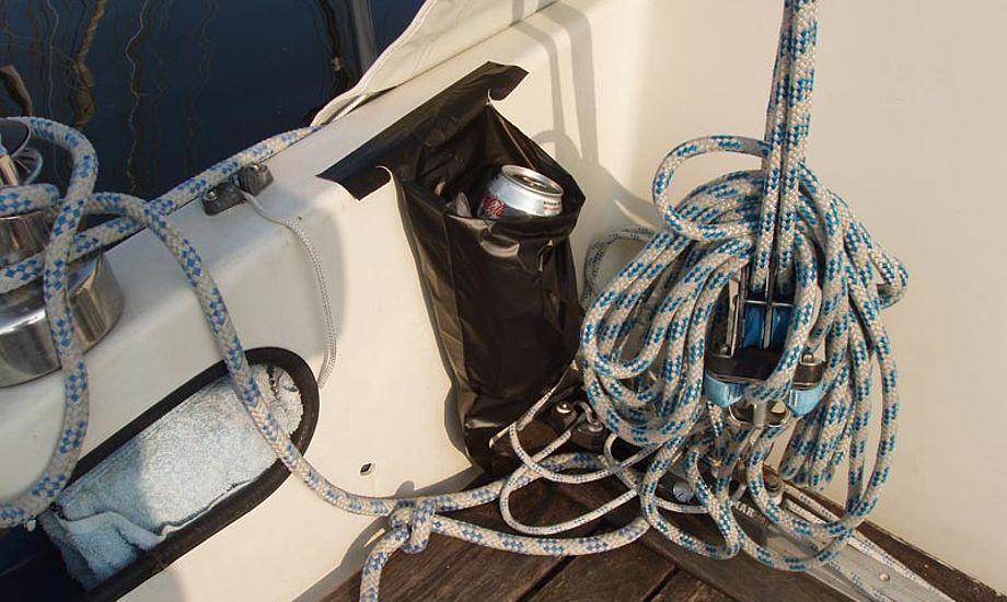 Her er Carbage monteret i en Drabant 26 i Roskilde Havn. Foto: Kåre Fjalland