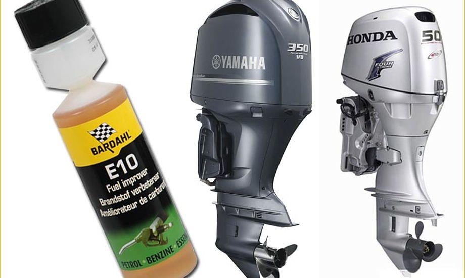 Nyt tilsætningsstof forhindrer ethanolen i at nedbryde gummipakninger og -slanger. Foto: Palby Marine