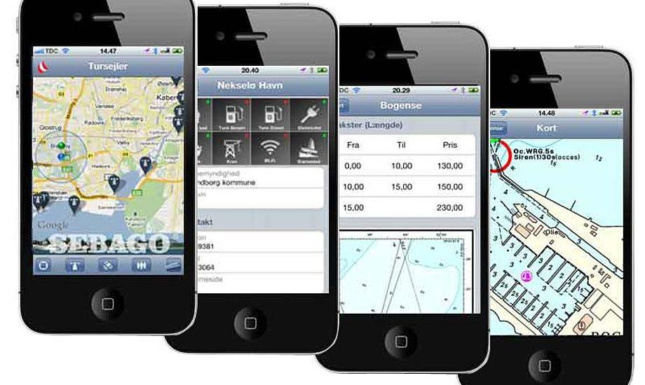 Om ca. tre uger kommer tursejler-apps til Android telefoner. Foto: sejlsport.dk