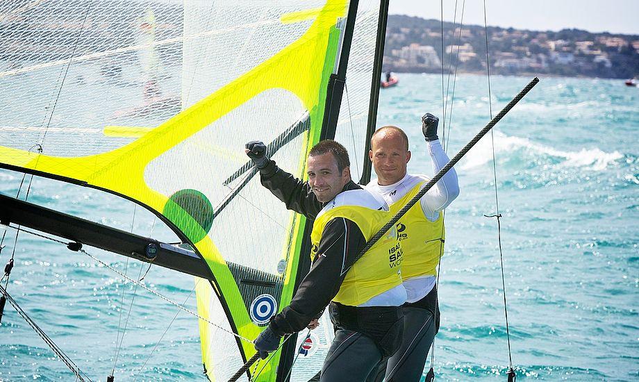 Nørregaard og Lang ligger kun et point efter Warrer og Hansen i OL-udtagelsen, der afgøres snart i Hyeres.