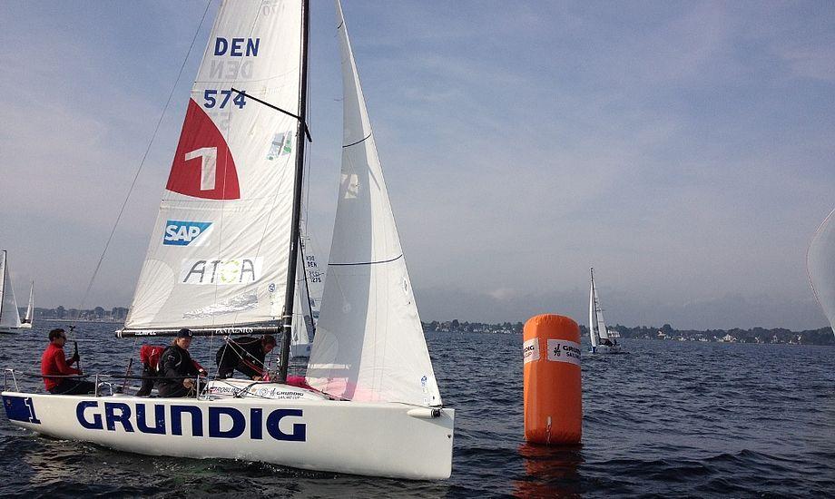 14 både deltog i Grundig Sailing Cup. Foto: Dan Ibsen/KDY.