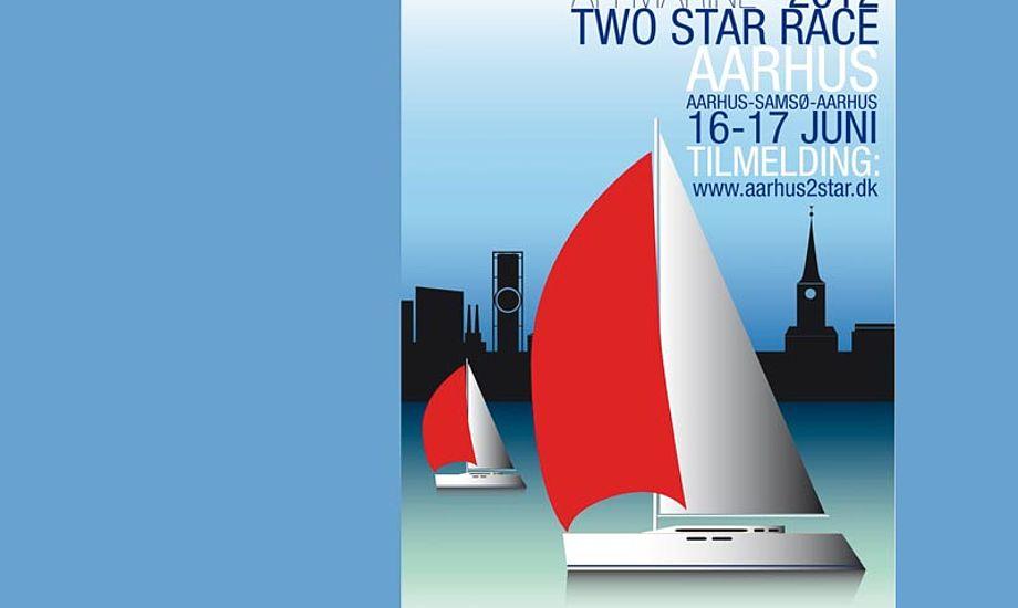 Der er lodtrækningspræmier på højkant for dem, der tilmelder sig under Både i Bella.  Grafik: AFI Marine Two Star Race