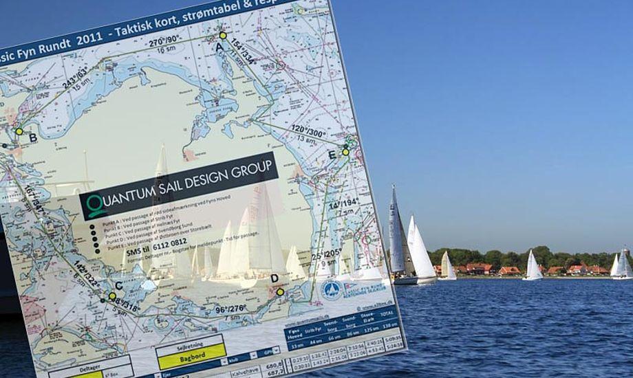 Respittabellen er udvidet med en kortoversigt over strømmen i Svendborgsund samt Rudkøbingløbet.
