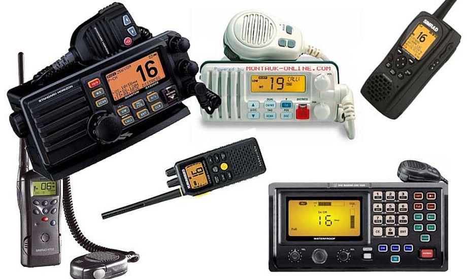 Nyere VHF-radioer kan det hele og lidt til. Måske kunne kystsejlerne nøjes med mindre.
