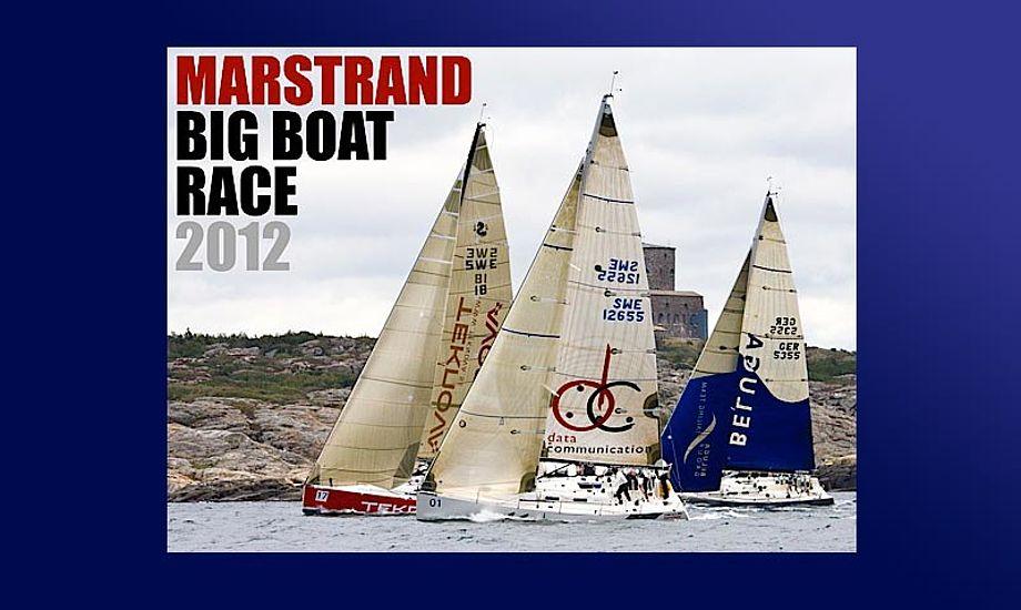 Der er planlagt 6-7 sejladser i Marstrand.
