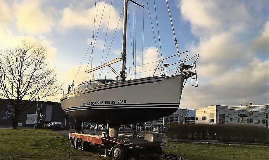 Ved indkørslen til messen, vil man se en Nordship 360 DS opstillet som vartegn, og som et eksempel på dansk bådebyggeri.