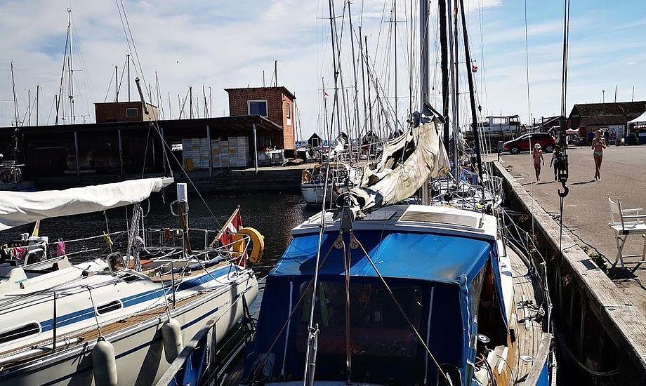 En million overnatninger er en vigtig psykologisk grænse for havnene, fortæller FLID. Her stemning fra Lundeborg i år. Foto: Troels Lykke