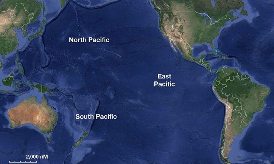 Onsdag morgen så Appel og Fuiaba amfibiefartøjet USS Ashland fra den amerikanske flåde, og de vidste, at de var reddet.