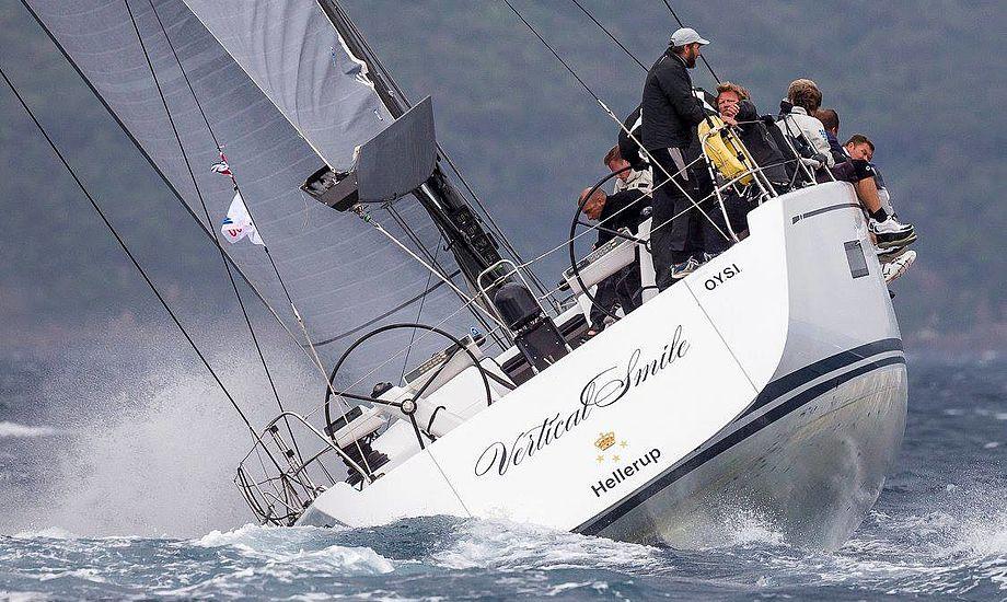 Morten Lorenzen har i flere år gastet på denne danske Swan 60. - Rest In Peace, Bådnyt og Sejler, vi er ikke mange der kommer til at savne jer, siger Lorenzen, der læser Yacting World, hvis han vil læse et printmagasin. Foto: Borlenghi/Rolex