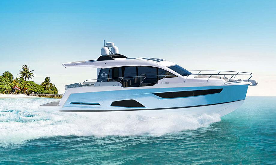 Alle områder på båden er tilpasset kundernes behov. Foto: PR-foto.