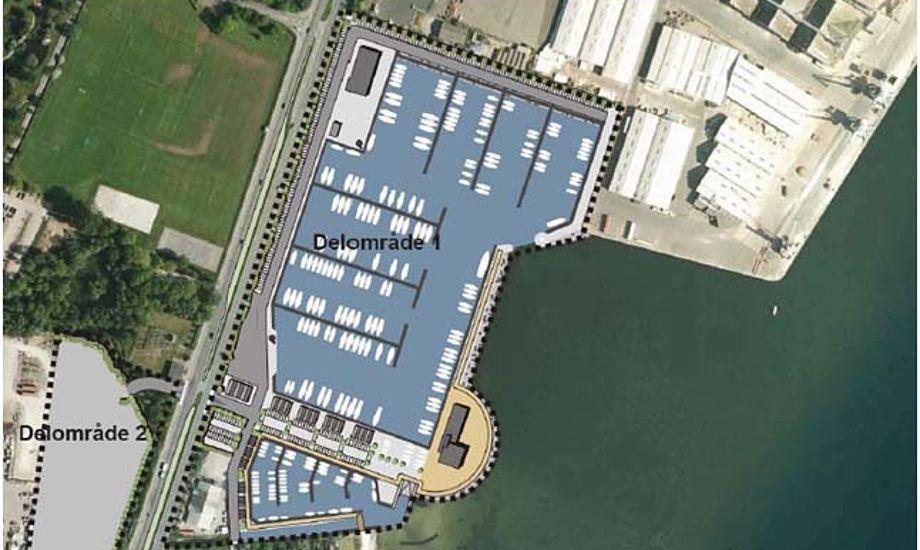 Gravearbejdet i Fredericia Lystbådehavn er påbegyndt og de første nye pladser forventes at tages i brug sidst på året.