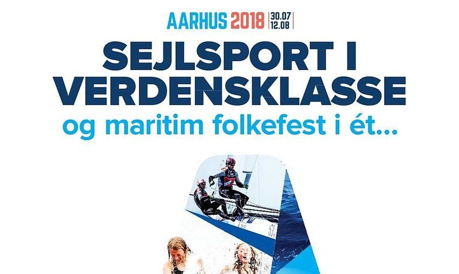 Der vil blandt andet være mulighed for at ro kajak, stå på stand up paddle og dykke i en container, når VM afholdes i Aarhus i 2018.