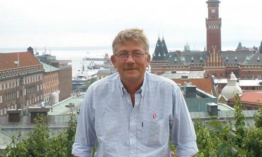 Ole Ingemann modtog i april Dansk Sejlunions Guldnål. Foto: Privatfoto