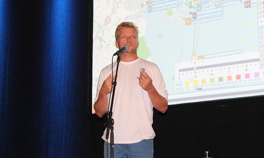Morten Brandt ses her til Silverrudder, som Svendborg Amatør Sejlklub i dag står i spidsen for. Arkivfoto