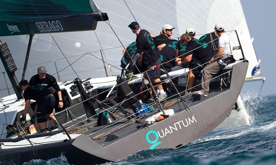 Quantum Sails viser at de kan slå den store rival North Sails. Foto: Nico Martinez/WSM