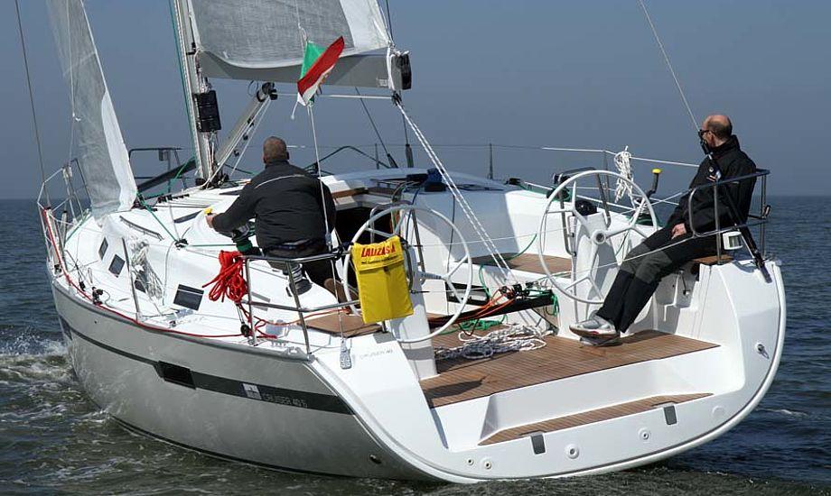 BådNyt/minaad.dk testede båden som de første i verden i marts i Italien. Læs mere i BådNyt senere. Arkivfoto: Troels Lykke
