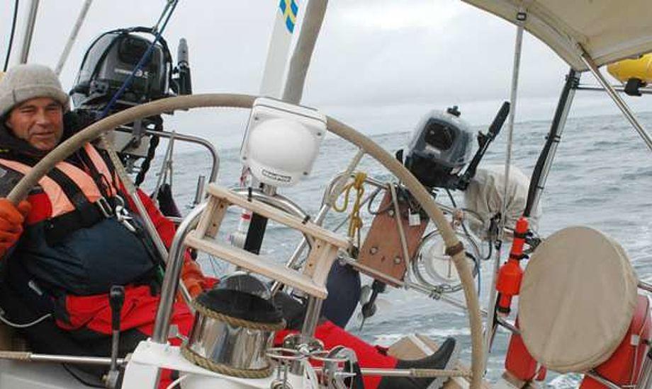 """I sommer brugte ægteparret fire måneder på at sejle deres sejlbåd """"Ariel IV"""",  fra Helsingborg til Alaska."""