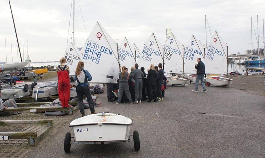 Foto fra Kaløvigs vinterlejr 2012. Foto: Kaløvig Bådelaug