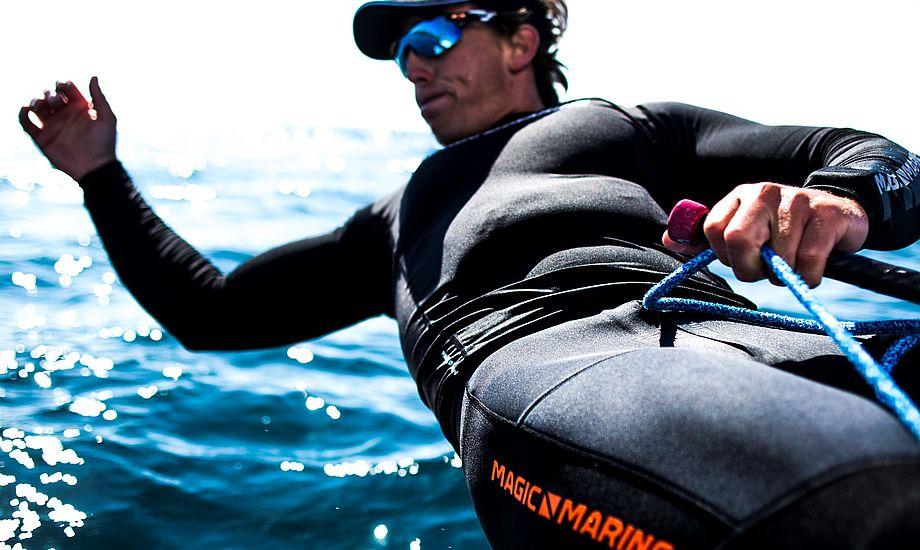 HORIZON Hiking Long John er til hængesejlere, mener hollandske Nicholas Heiner. Foto: SailingEnergy.