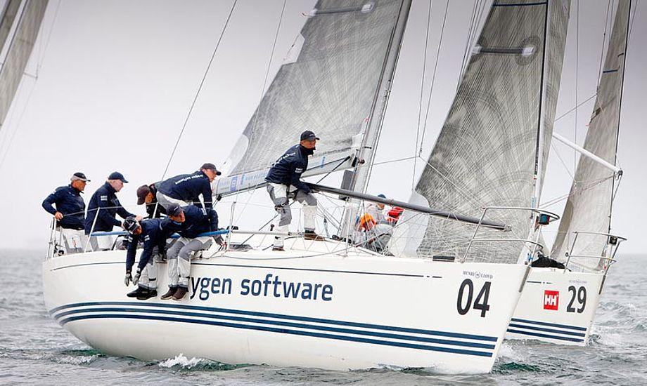 En målrettet indsats kan føre til VM sejr. Foto: Mick Anderson/www.sailingpix.dk