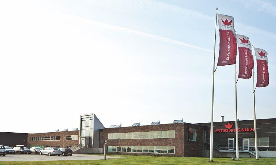 Paul Elvstrøm grundlagde i 1954 firmaet, der i dag går under navnet Elvstrøm Sails. Her sejlloftets nuværende lokaler i Aabenraa. Foto: Elvstrøm Sails Aabenraa, Denmark