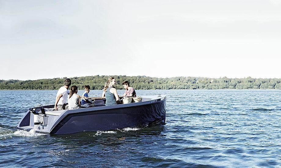 Her ses den nye elbåd fra fra Tuco Marine og Rand Boats. Foto: Rand Boats