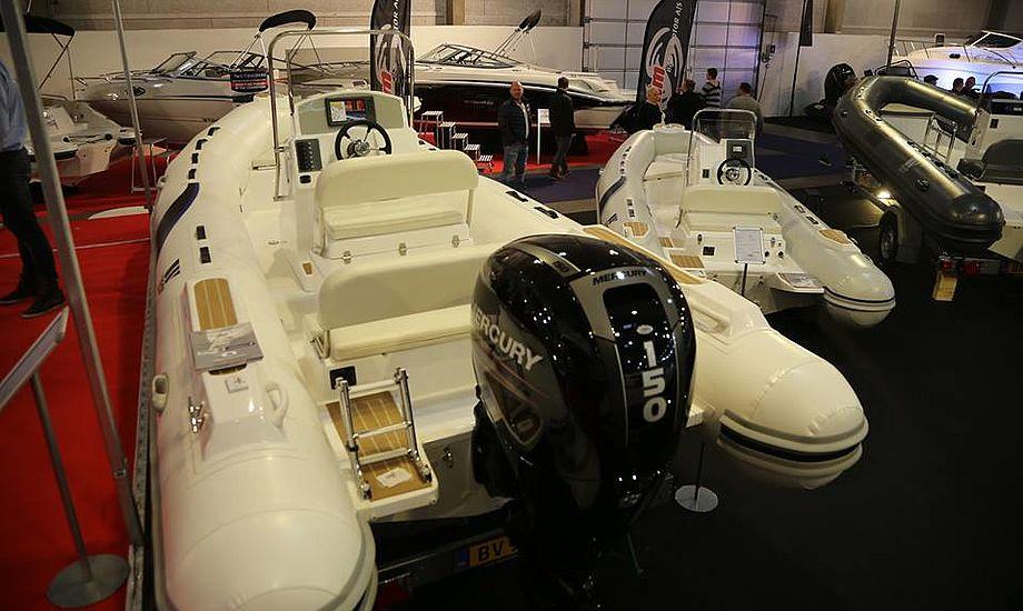 Tiger Marine DM 600 Speciel koster 189.000 kr. med 115 hk motor. Foto: Troels Lykke