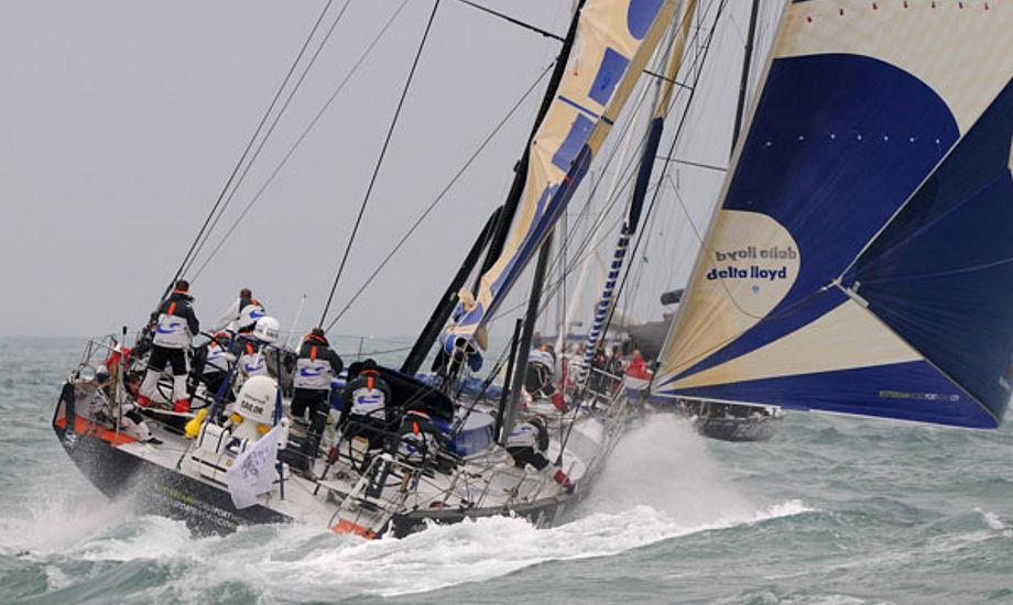 Delta Lloyd under Volvo Ocean Race.