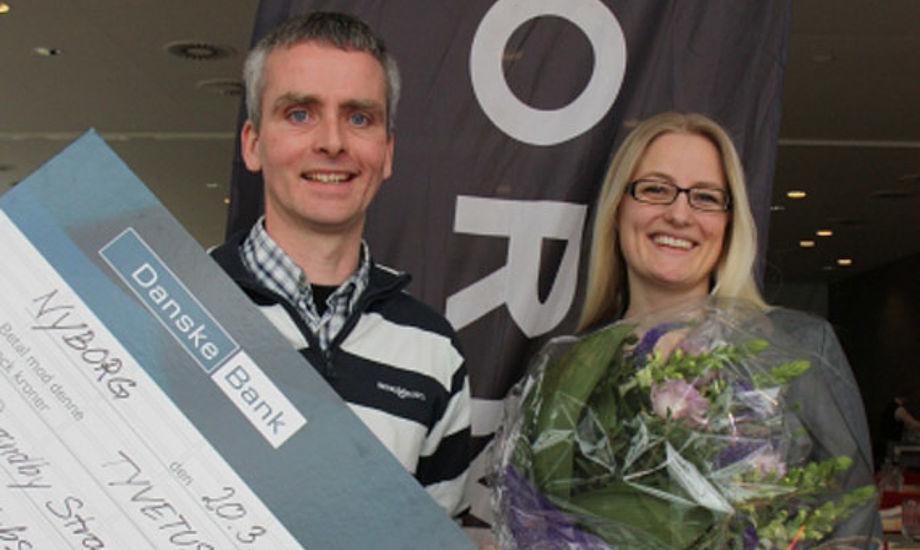 Prisen blev givet på baggrund af breddearbejdet og klubbens individuelle tilbud. Foto: Christian M. Borch/sejlsport.dk