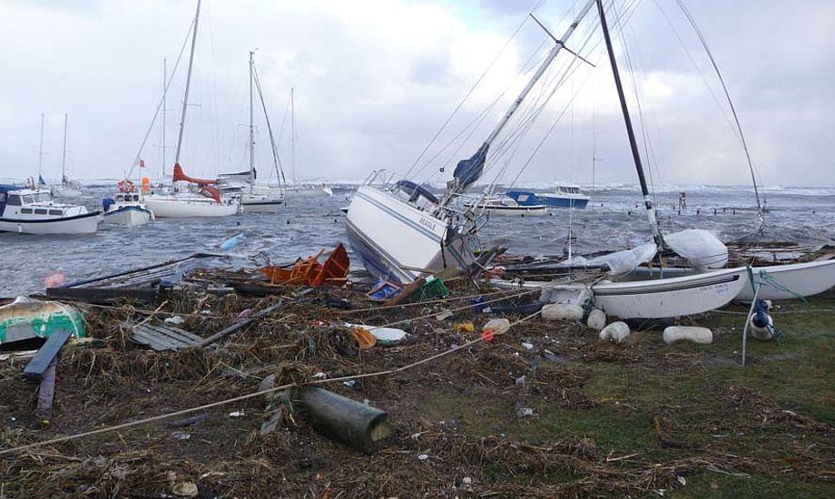Både i krise i Gilleleje. PR-foto fra FLID