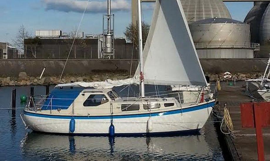 Ekspeditionsskibet i Brøndby Havn. Foto: Bøje Larsen