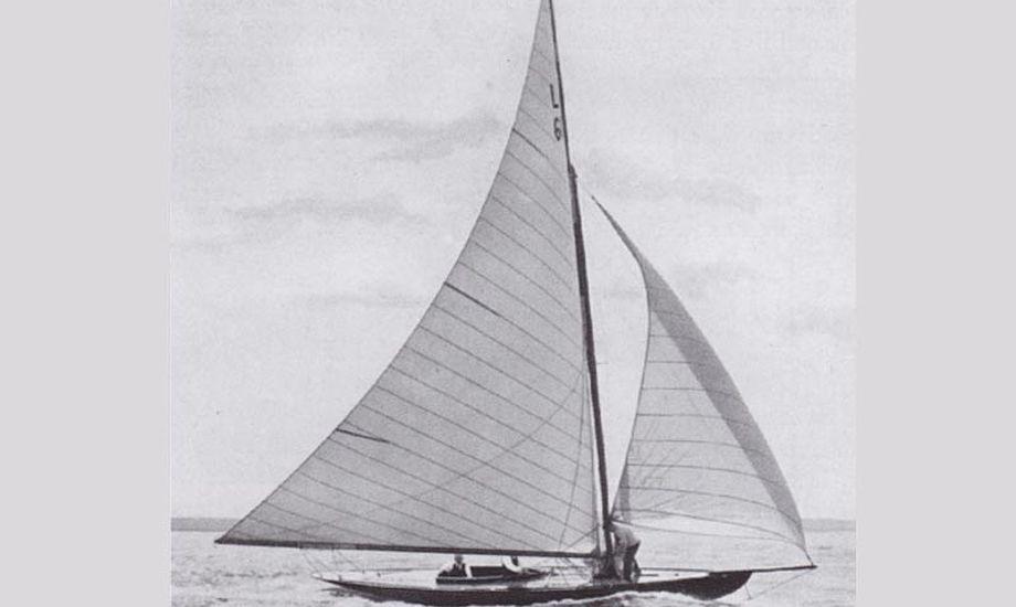 Foto fra 1913 af Nurdug III, et søsterskib til Tit Tit.