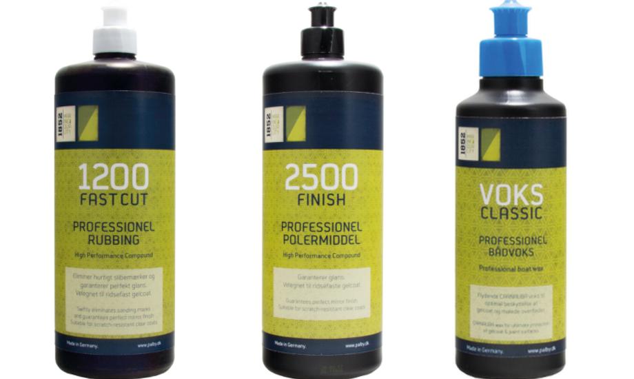 1200- og 2500-produktet fås i enten en 500 ml eller 1 liter version, mens voksen blot kan købes i en 250 ml stor bøtte.