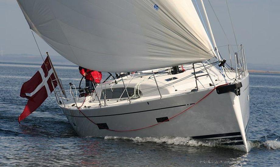 Den nye Xp44 måler 44 fod, og koster i omegnen af 3 millioner kr. Foto: x-yachts.com