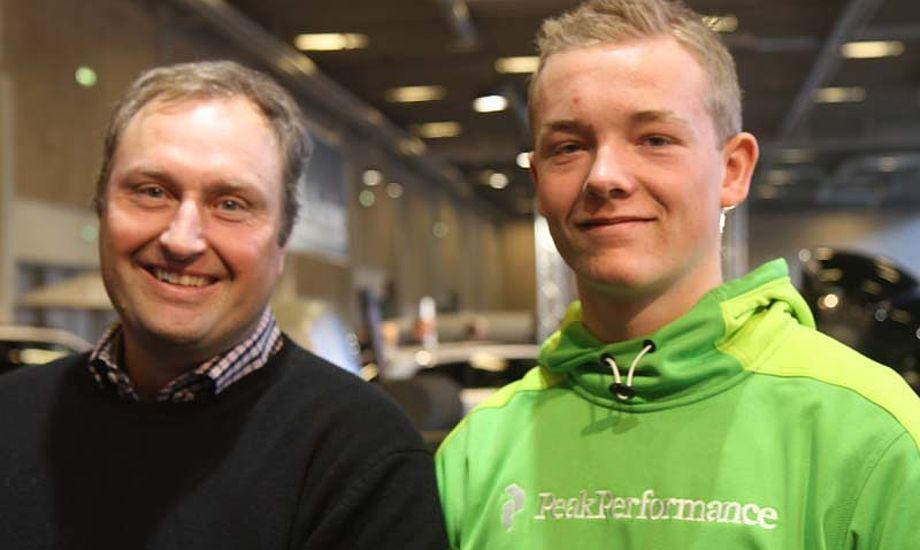 Claus Høj Jensen, tv., gør comeback med Frederik Dahl Hansen. - Vi arbejder hårdt på båden for tiden, siger sejlerne. Foto: Troels Lykke