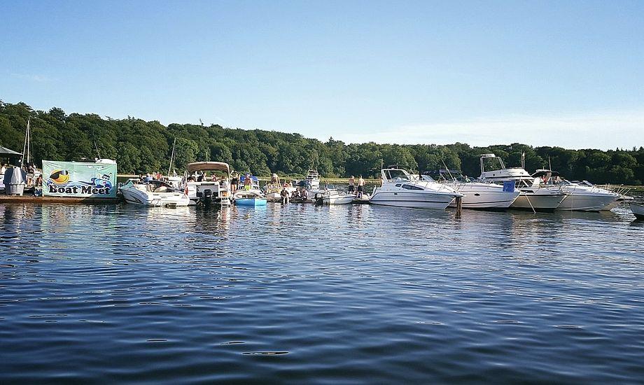 Sidste år deltog over 400 sejlere i festen på Roskilde Fjord. Foto: Boat Meet