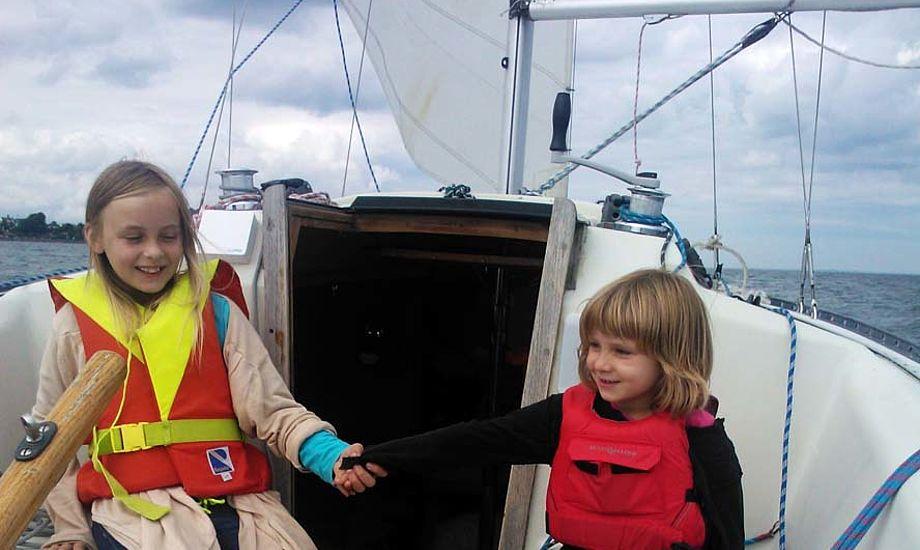 Mathilde og Dagmar var også på sommertur i år en Drabant 24. Foto: Troels Lykke